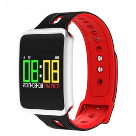 096-TFT-Color-Screen-Bracelet-with-Heart-Rate-Monitor-Oxygen-Blood-Pressure-Calorie-Consumption-Red