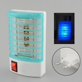 Portable Mini Night Light Insect Mosquito Repellent, Electric Anti Fly Mosquito Repeller for Home Safe EU plug