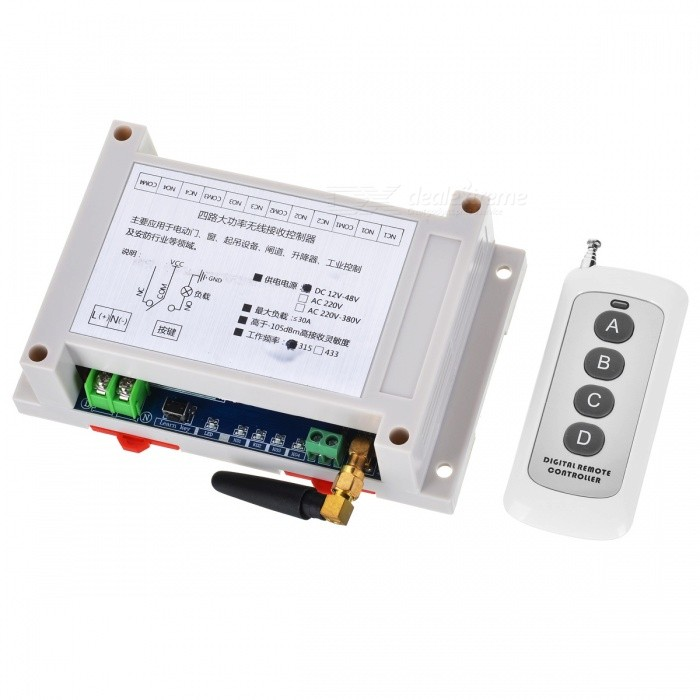 315MHZ-High-Power-Wide-Voltage-DC-12V-48V-Universal-Industrial-Remote-Control-Barrier-Switch
