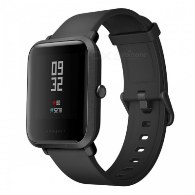 Xiaomi Huami Amazfit Bip BIT PACE Lite Youth Version Smart Watch - Black (English Edition)