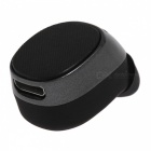Eastor mini 7 Portable Invisible Sport Bluetooth Wireless Headset, Hands-free In-Ear Stereo Mini Earbud Earphone - Black