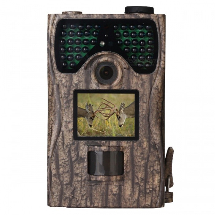 "IP55 Waterproof 12MP 1080P 2.0"" Full HD Game & Hunting Camera with 48Pcs IR LEDs Night Vision up to 65ft/20m"