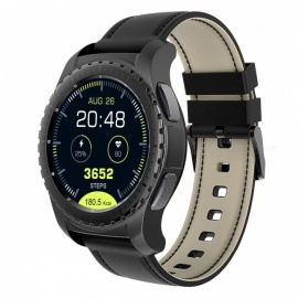 KW28-GPS-SIM-13-Round-Screen-Smart-Watch-Support-TF-Card-Music-Bluetooth-Heart-Rate-Monitor