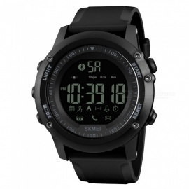 SKMEI-1321-Mens-Bluetooth-Smart-Watch-Waterproof-Digital-Wristwatch-with-Pedometer-Remote-Camera-Calorie-Counter
