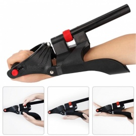 Wrist-Forearm-Fitness-Exercise-Trainer-Gym-Workout-Sports-Adjustable-Wrist-Arm-Strength-Exerciser-Machine-black