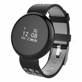 I8 Waterproof IP68 0.66quot OLED Round Screen Bluetooth Smart Watch with Heart Rate Monitor, Pedometer
