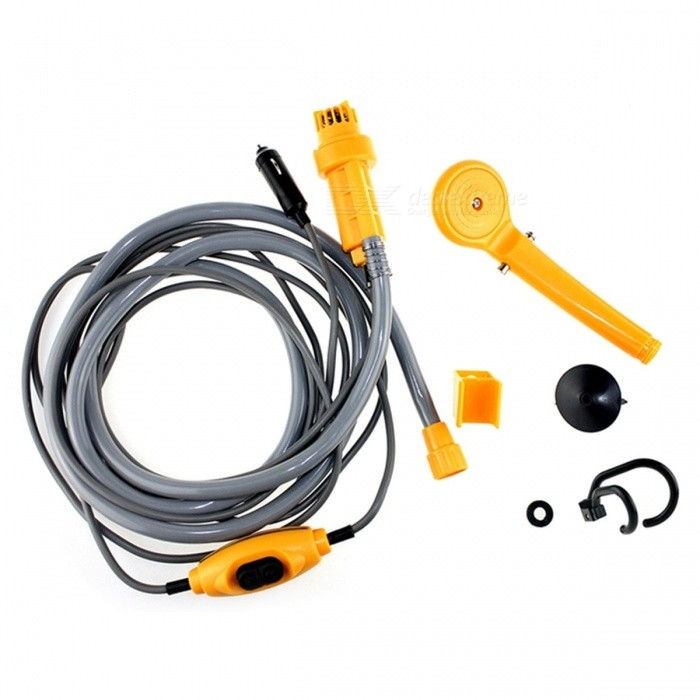 IZTOSS-AP2817-Portable-12V-Car-Shower-Wash-Tool-Kit-for-Home-Use-or-Outdoor-Camping