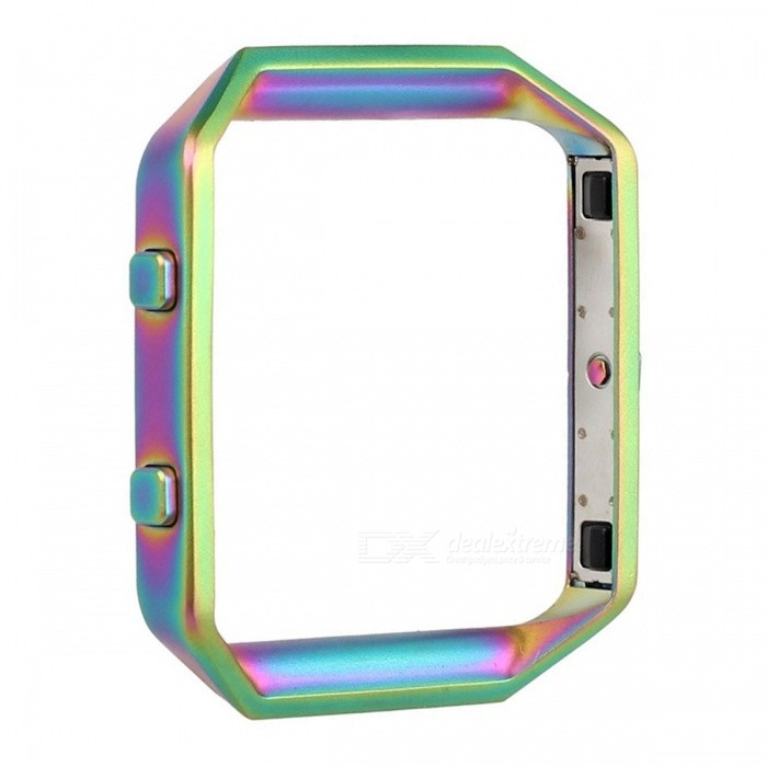 Miimall Stainless Steel Replacement Metal Frame Housing for Fitbit Blaze Smart Watch - ColorfulWearable Device Accessories<br>Form  ColorColorfulModelFibit Blaze FrameQuantity1 DX.PCM.Model.AttributeModel.UnitMaterialStainless SteelPacking List1 x Fitbit Blaze Smart Watch Frame<br>