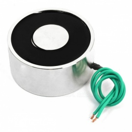 YENISEI XP80X38 12VDC 100Kg 220.5 lb 80x38mm Sucked Electric Lifting Magnet Electromagnet