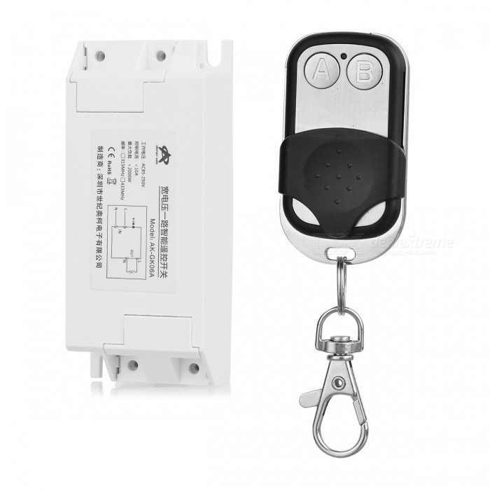 KJ-100-433MHZ-AC85V-250V1 Wireless Digital Light Switch Motor Switch for Lamps, Electric Doors, Windows, Lifting Equipment