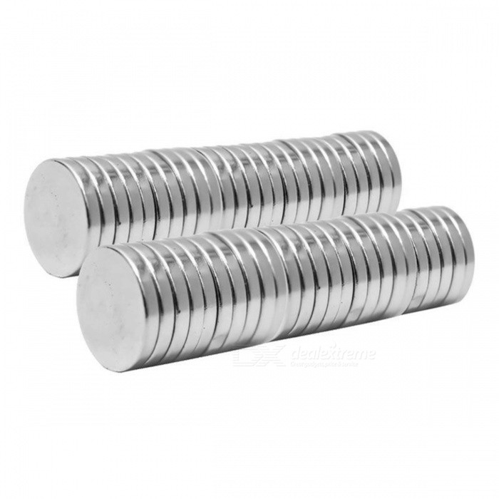 12mm-x-2mm-Rare-Earth-Neodymium-Super-Strong-Magnets-N50-Round-Shaped-Magnet-Max-Operating-Temperature-80C-20PCS-silver