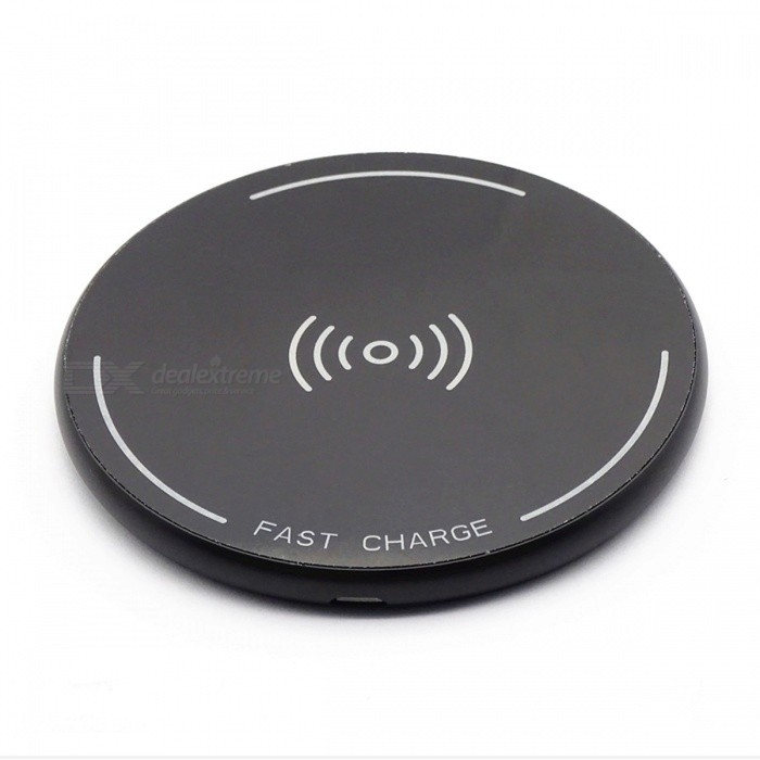 ST10 12W High Speed Qi Wireless Charger for Mobile Phone - BlackWireless Chargers<br>Form  ColorBlackPower AdapterWithout Power AdapterModelST10Quantity1 DX.PCM.Model.AttributeModel.UnitMaterialMetal + acrylicExecutive StandardQiShade Of ColorBlackTypeChargerTransmition Distance5-10mmInput9V 2AOutput interface, output current, output voltage9V 1.5ALED IndicatorYesCertificationCE FCC RoHsPacking List1 x Wireless Charger1 x Transmission Cable<br>