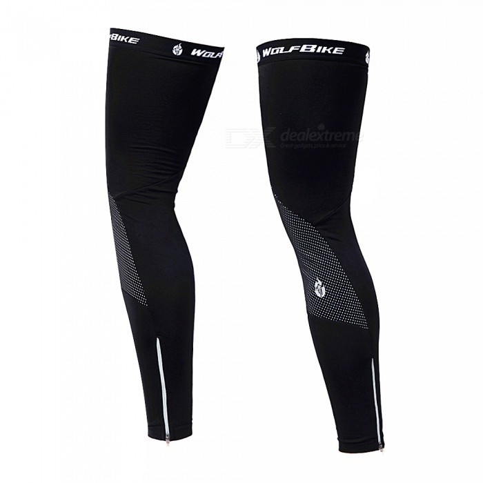 Outdoor Sports Unisex Cycling Leg Sleeves Breathable Warm Windproof Spandex Leg Warmer - Black (L)Leg Gaiters &amp; Leg Sleeves<br>Form  ColorBlackSizeLModelBC320Quantity1 DX.PCM.Model.AttributeModel.UnitMaterialComposite fleece fabricGenderUnisexSuitable forAdultsPacking List1 x Pairs of Leg Sleeves<br>