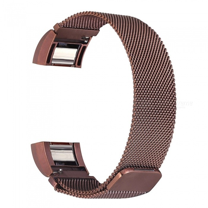 Miimall Milanese Loop Stainless Steel Watch Wrist Replacement Band for Fitbit Charge 2 - CoffeeWearable Device Accessories<br>Form  ColorCoffeeModelFibit Charge 2 BandsQuantity1 DX.PCM.Model.AttributeModel.UnitMaterialStainless SteelForm  ColorCoffeePacking List1 x Milanese Loop Stainless Steel Fitbit Charge 2 Band ( Coffee )<br>