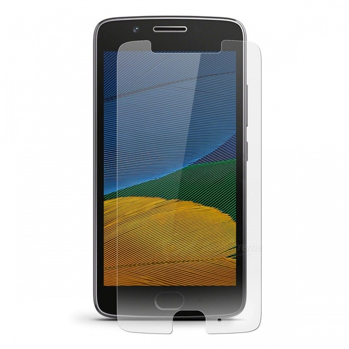 Dx coupon: 0.26mm 9H Hardness Tempered Glass Screen Protector for Motorola MOTO G5