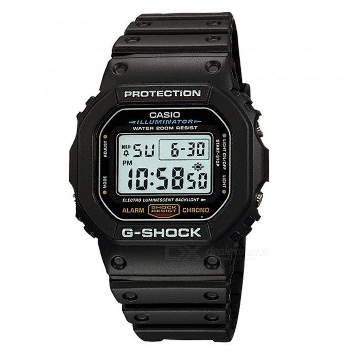 Casio G-Shock DW-5600E-1VQ 200m Waterproof Men's Digital Watch - Black