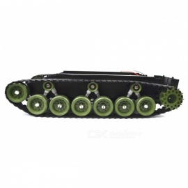 SINONING-Shock-Absorption-Damping-Balance-Tank-Robot-Chassis-Platform-High-Power-Remote-Control-DIY-Toy-for-Arduino-Green