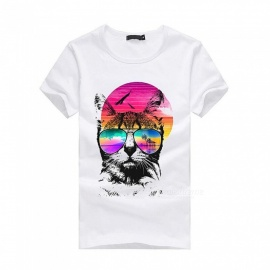 3D-Colorful-Pattern-Fashion-Personality-Casual-Cotton-Short-Sleeved-T-Shirt-for-Men