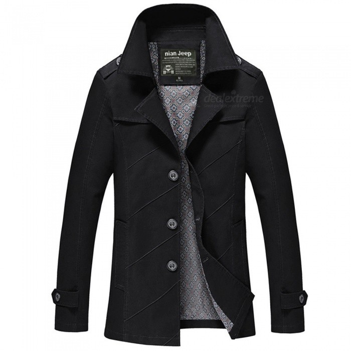 1111 Mens Slim Outdoor Casual Fashion Suit Jacket Coat - Black (4XL)Jackets and Coats<br>Form  ColorBlackSize4XLModel1111Quantity1 DX.PCM.Model.AttributeModel.UnitShade Of ColorBlackMaterialCotton and polyesterStyleFashionTop FlyZipperShoulder Width51 DX.PCM.Model.AttributeModel.UnitChest Girth120 DX.PCM.Model.AttributeModel.UnitWaist Girth120 DX.PCM.Model.AttributeModel.UnitSleeve Length67.5 DX.PCM.Model.AttributeModel.UnitTotal Length81.5 DX.PCM.Model.AttributeModel.UnitSuitable for Height185 DX.PCM.Model.AttributeModel.UnitPacking List1 x Coat<br>