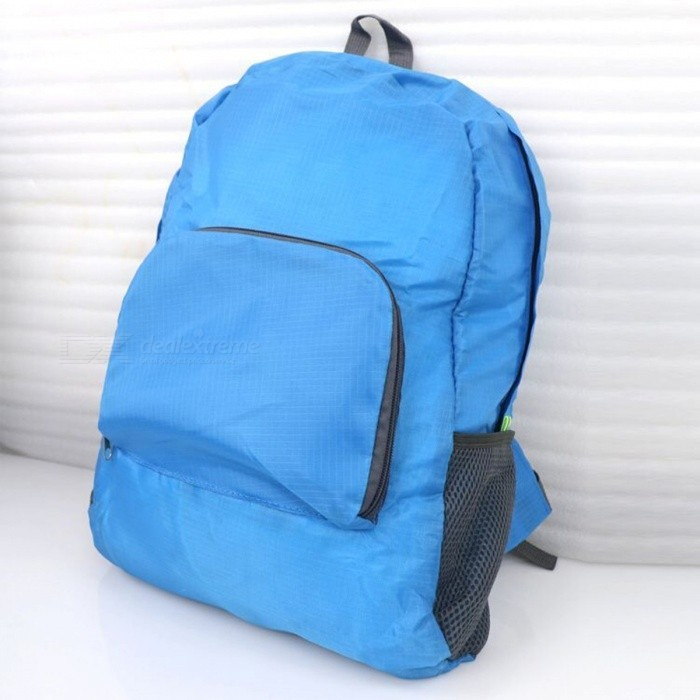 Ultralight Casual Backpack Waterproof Nylon Backbag Travel Backpack School Bag - BlueForm  ColorBlueBrandOthers,Others,IMEModelIME1201Quantity1 DX.PCM.Model.AttributeModel.UnitMaterialNylonTypeDaypackGear Capacity20 DX.PCM.Model.AttributeModel.UnitCapacity Range20L~40LRaincover includedNoBest UseRunning,Climbing,Mountaineering,Travel,CyclingWarranty12 monthsCertificationCEPacking List1 x Blue Backpack<br>