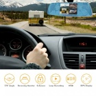 ENKLOV Mirror 1080P HD 5 Inch IPS Touch Display, 170 Degree Wide Angle Vehicle Dashboard Recorder with Rearview Backup Came