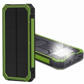 Cwxuan-Solar-Powered-Portable-5V-10000mAh-Power-Bank-with-Dual-USB-Ports-6-LED-Flashlight-for-Smartphones