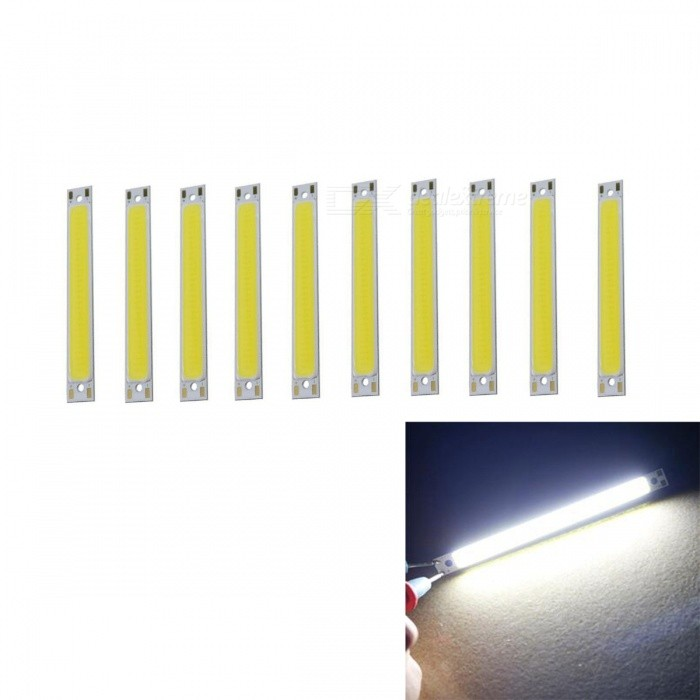 Buy JRLED 60x8mm 1W COB 16-LED Cold White LED Module (DC 3V / 10 PCS) with Litecoins with Free Shipping on Gipsybee.com