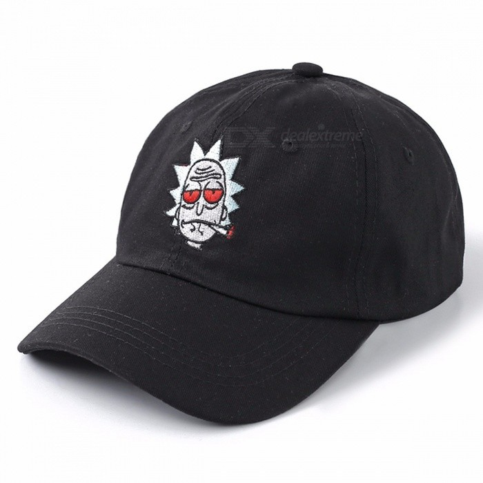 High Quality Cotton Baseball Cap Bone Snapback, New US Animation Rick Cap, Rick and Morty Dad Hat, Adjustable Casquette