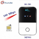 TIANJIE Mini 3G 4G LTE Wireless Wi-Fi Router, Portable Pocket-Size Mobile Hotspot Car Wi-Fi Router with SIM Card Slot   MF903