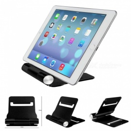 Aluminum-Alloy-Universal-Folding-Mobile-Phone-Tablet-Desktop-Stand-Bracket-Holder-Black