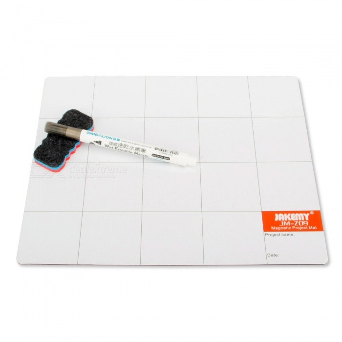 OJADE-Magnetic-Project-Mat-Screw-Work-Pad-with-Marker-Pen-Eraser-for-Cell-Phone-Laptop-Tablet-IPHONE