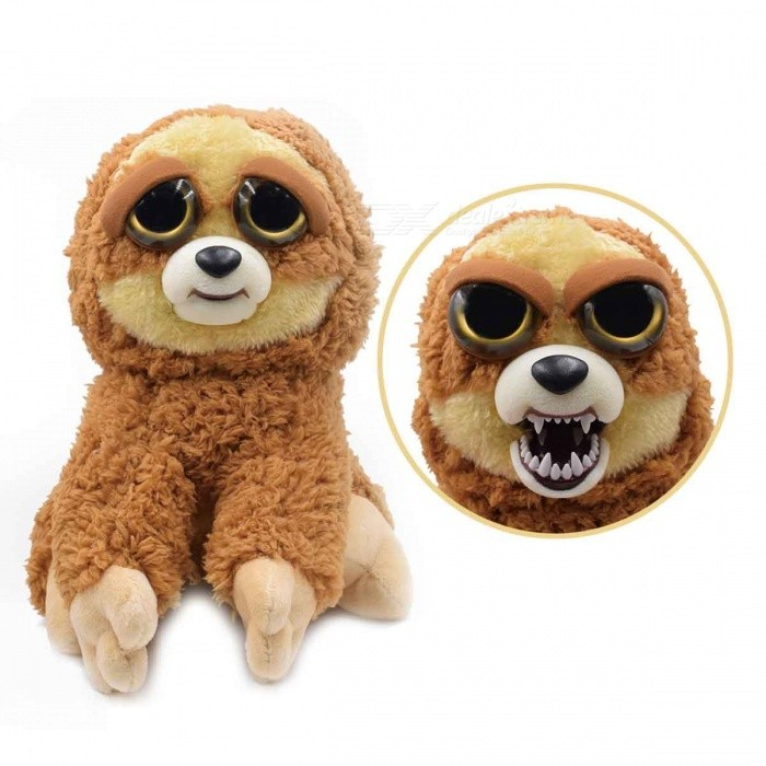 Mischievous-Adorable-Cute-Angry-Face-Changing-Plush-Doll-Toy-Gift-for-Children-Sloth-Style