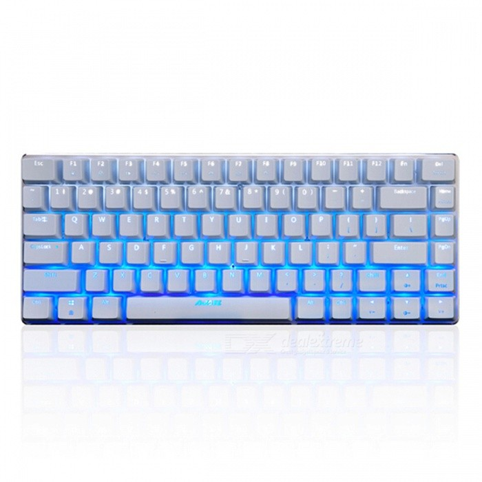 Ajazz Geek AK33 Cold Ice Version Game Mechanical Keyboard with Backlight - Black SwitchGaming Keyboards<br>Form  ColorWhiteModelAK33 cold iceMaterialPlasticQuantity1 DX.PCM.Model.AttributeModel.UnitInterfaceUSB 3.0,USB 2.0Wireless or WiredWiredBluetooth VersionNoCompatible BrandAPPLE,Dell,HP,Toshiba,Acer,Lenovo,Samsung,MSI,Sony,IBM,Asus,Thinkpad,Huawei,GoogleAxis82Tracking MethodTouch PadBack-litYesPowered ByUSBBattery included or notNoCharging Time0 DX.PCM.Model.AttributeModel.UnitWaterproofNoTypeGaming,ErgonomicSupports SystemWin xp,Win 2000,Win 2008,Win vista,Win7 32,Win7 64,Win8 32,Win8 64,MAC OS X,IOSPacking List1 x Keyboard1 x Instruction<br>