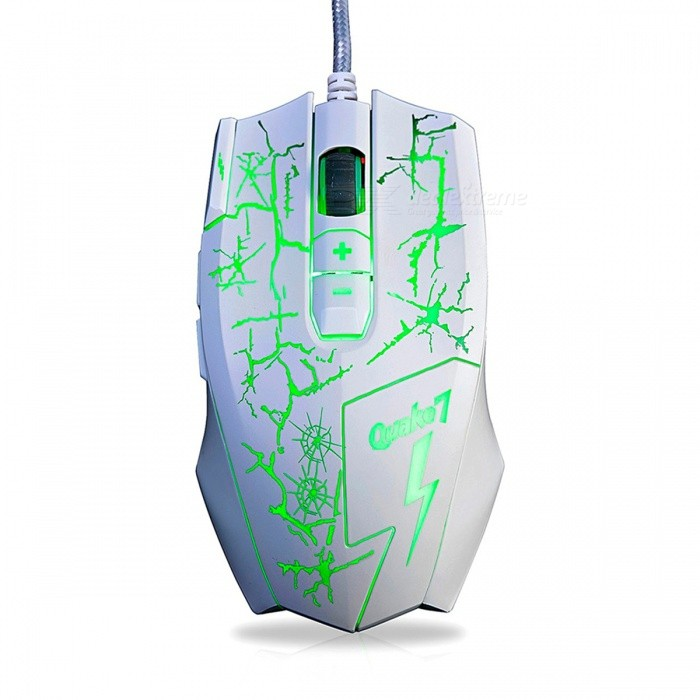 AJAZZ Q7 Portable USB Wired Gaming Mouse with Backlit for Notebook Desktop ComputerGaming Mouse<br>Form  ColorWhiteModelQ7Quantity1 DX.PCM.Model.AttributeModel.UnitMaterialPlastic cementShade Of ColorWhiteInterfaceUSB 3.0Wireless or WiredWiredOptical TypeLEDBluetooth VersionNoPowered ByUSBBattery included or notNoBattery NumberNOSupports SystemWin xp,Win 2000,Win 2008,Win vista,Win7 32,Win7 64,Win8 32,Win8 64,MAC OS XCable Length160 DX.PCM.Model.AttributeModel.UnitTypeGamingPacking List1 x Mouse1 x Instruction<br>