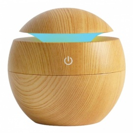 P-TOP USB  Air Aroma Essential Oil Diffuser, Ultrasonic Mist Humidifier w/ 7-Color Changing LED Night Light