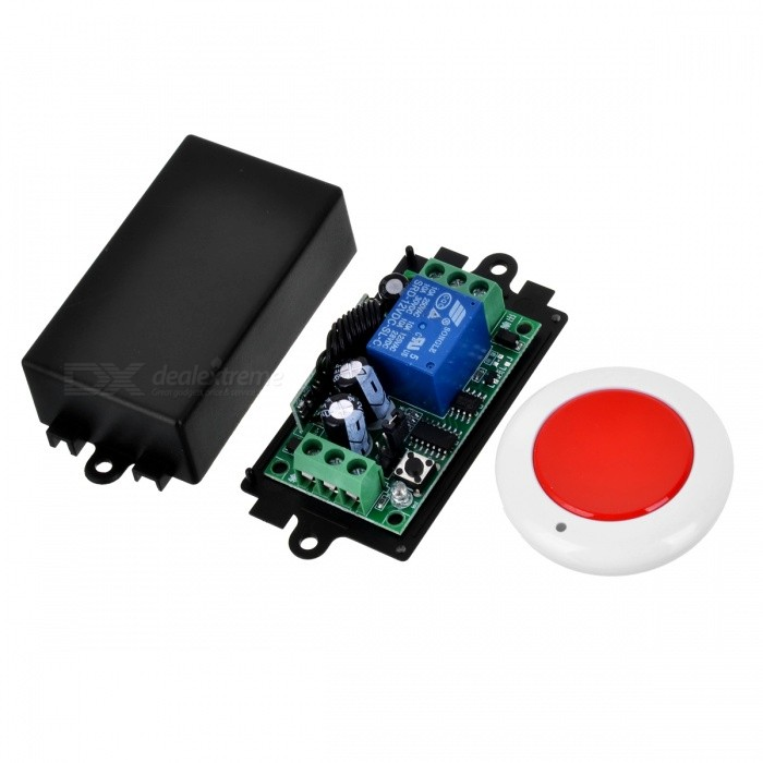 KJ-108-315MHZ-DC12V Electric Remote Control Switch for Door, Lighting and MoreTransmitters &amp; Receivers Module<br>Form  ColorWhite + MaroonModelKJ-108-315MHZQuantity1 DX.PCM.Model.AttributeModel.UnitMaterialABS+PCSFrequency315MHZWorking Voltage   12 DX.PCM.Model.AttributeModel.UnitWorking Current10 DX.PCM.Model.AttributeModel.UnitEffective Range50-150English Manual / SpecNoDownload Link   https://img.alicdn.com/imgextra/i1/94072534/TB2sARjmxBmpuFjSZFDXXXD8pXa_!!94072534.pngPacking List1 x Remote control1 x Controller module<br>