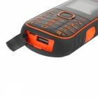 "A5000+ 2.4"" GSM Mobile Phone w/ Flashlight, Power Bank - Orange"