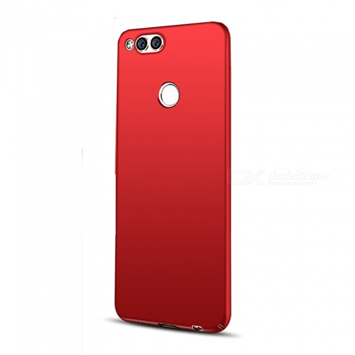 new style 40fff bc031 Naxtop PC Hard Protective Back Case for Huawei Honor 7X - Red