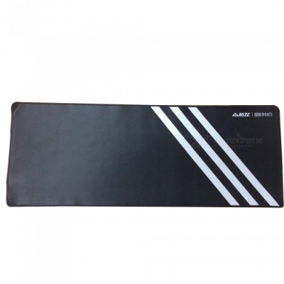 AJAZZ Super Large Game Mouse Pad Notebook Desk Table Pad - Black + White