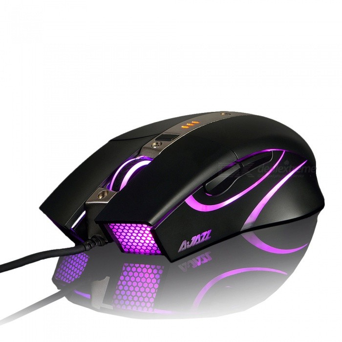 AJAZZ AJ310 Wired Game Mouse Laptop PC Mouse with Backlight for LOLGaming Mouse<br>Form  ColorBlackModelAJ310Quantity1 DX.PCM.Model.AttributeModel.UnitMaterialPlasticShade Of ColorBlackInterfaceUSB 3.0,USB 2.0Wireless or WiredWiredBattery included or notNoSupports SystemWin xp,Win 2000,Win 2008,Win vista,Win7 32,Win7 64,Win8 32,Win8 64,MAC OS XTypeGamingPacking List1 x Mouse1 x Instruction<br>