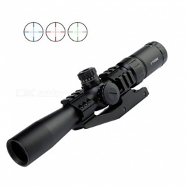 OJADE-2-7x32BE-Red-Green-Blue-Illuminated-Mil-Dot-Rifle-Scope-with-Flip-Open-Cover-and-Sunshade-Tube