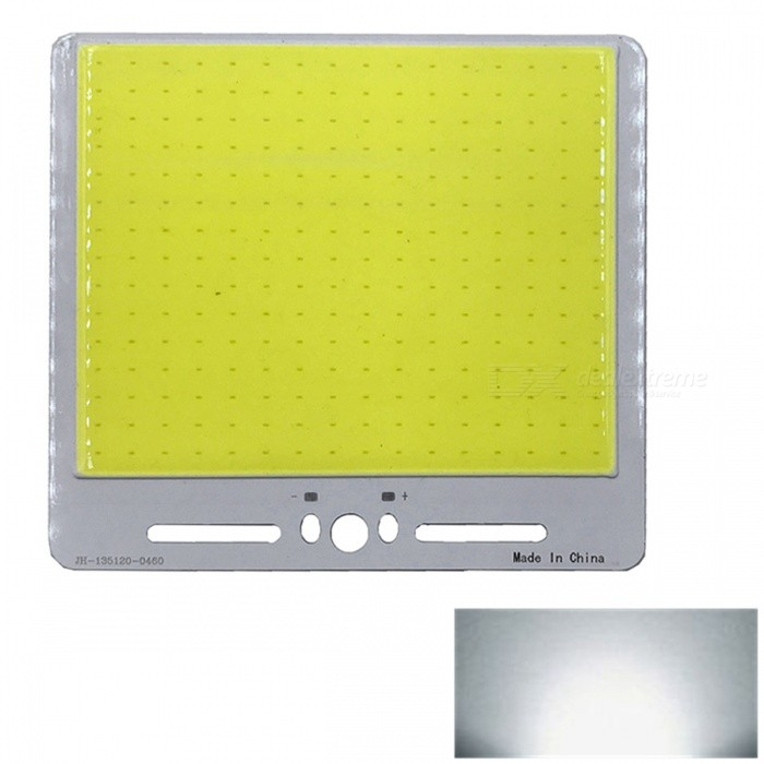 ZHAOYAO 135x120mm 50W DC 12-14V Dimmable COB LED Light - Cold WhiteLeds<br>Form  ColorYellow + White + Multi-ColoredColor BINCold WhiteMaterialAluminumQuantity1 DX.PCM.Model.AttributeModel.UnitPower50 DX.PCM.Model.AttributeModel.UnitRate VoltageDC 12-14VWorking Current4 DX.PCM.Model.AttributeModel.UnitDimmableYesEmitter TypeCOBTotal Emitters1Beam Angle180 DX.PCM.Model.AttributeModel.UnitColor Temperature6000KActual Lumens0-5500 DX.PCM.Model.AttributeModel.UnitConnector TypeOthers,WeldingOther Features5500-7000KPacking List1 x COB LED Light<br>