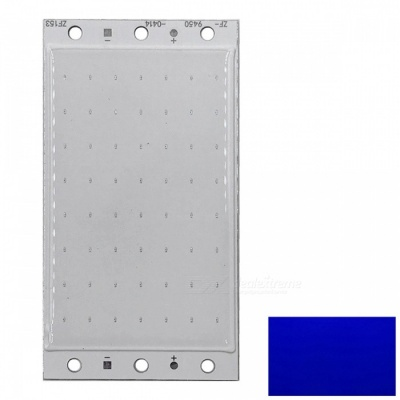 ZHAOYAO 94x50mm 20W DC 12-14V Dimmable COB LED Chip - Blue Light