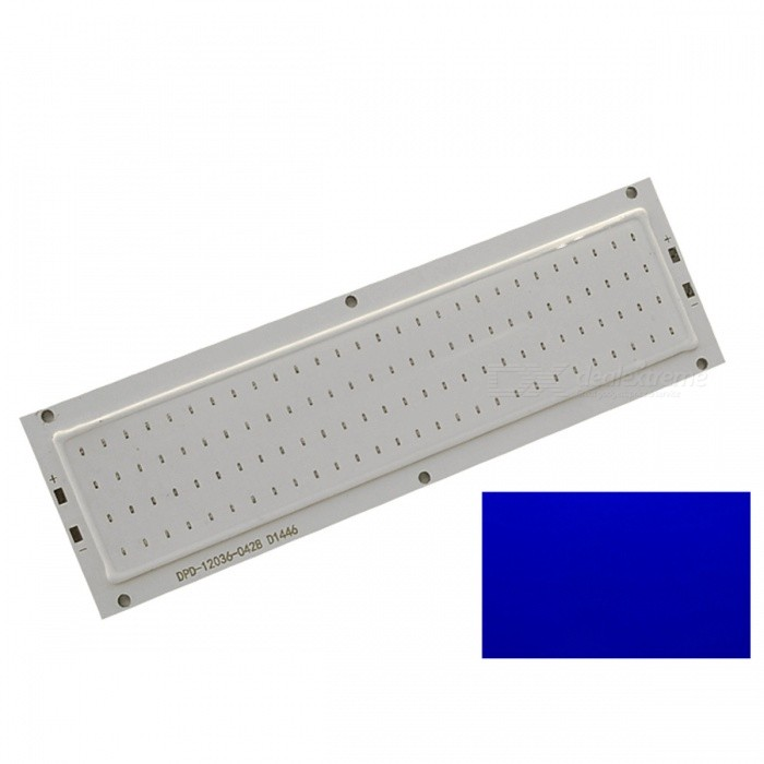 ZHAOYAO 120x36mm 10W DC 12-14V Dimmable COB LED Chip - Blue LightLeds<br>Form  ColorYellow + White + Multi-ColoredColor BINBlueMaterialAluminumQuantity1 DX.PCM.Model.AttributeModel.UnitPower10 DX.PCM.Model.AttributeModel.UnitRate VoltageDC 12-14VWorking Current830 DX.PCM.Model.AttributeModel.UnitDimmableYesEmitter TypeCOBTotal Emitters1Beam Angle180 DX.PCM.Model.AttributeModel.UnitActual Lumens0-1100 DX.PCM.Model.AttributeModel.UnitWavelength435-460nmConnector TypeOthers,weldingPacking List1 x COB LED<br>