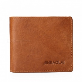 JIN-BAO-LAI-Mens-Stylish-Folding-Leather-Card-Holder-Wallet