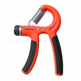 10-40Kg Adjustable Heavy Hand Gripper, Gym Power Fitness Wrist Forearm Strength Training Exerciser Hand Grip Orange