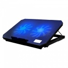 S200-156-Notebook-Radiator-Heat-Sink-with-Double-USB-Interface-Multifile-Height-Adjustment-Black