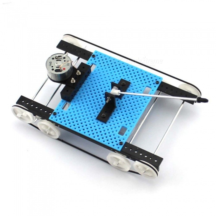 Buy DIY Hand Assembled Tank Model Intelligence Development Educational Toy with Litecoins with Free Shipping on Gipsybee.com