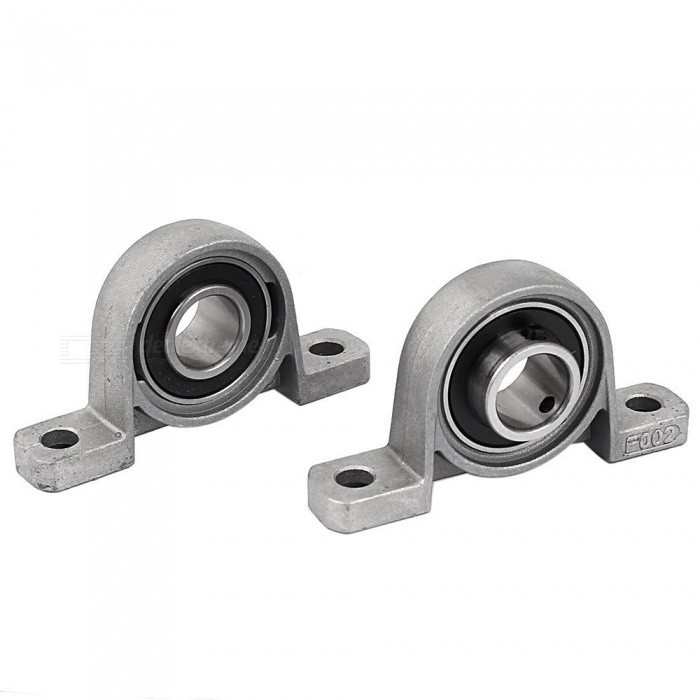 RXDZ P002 15mm Self-aligning Flanged Ball Bearings for Robot / CNC Machines (2 PCS)