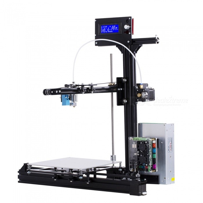 Flsun Large Printing Size 200*200*250mm 3D Printer Kit Auto-leveling Heated Bed with 2 Rolls Filament3D Printers, 3D Printer Kits<br>ColorblackPower AdapterUSBundlesstandardModelZQuantity1 DX.PCM.Model.AttributeModel.UnitMaterialFEPacking List1 x 3D Printer Kit<br>